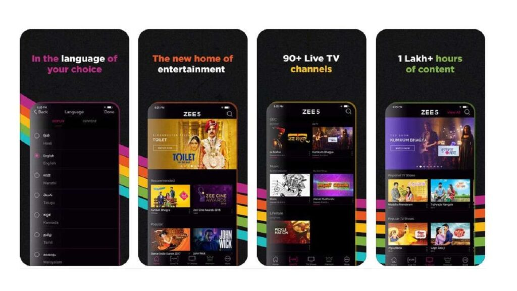 Cost To Develop a Live Video Streaming Apps like Zee5
