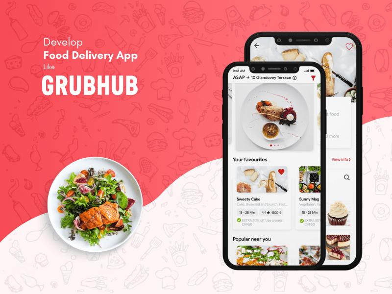 Cost to Develop Food Delivery Apps Like Foodpanda-Grubhub-clone-app