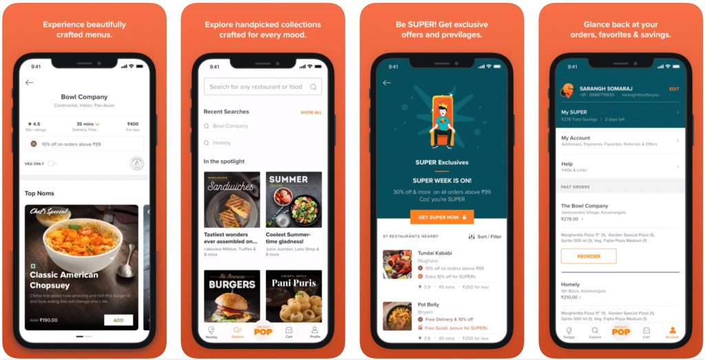 Cost to Develop Food Delivery Apps Like Swiggy