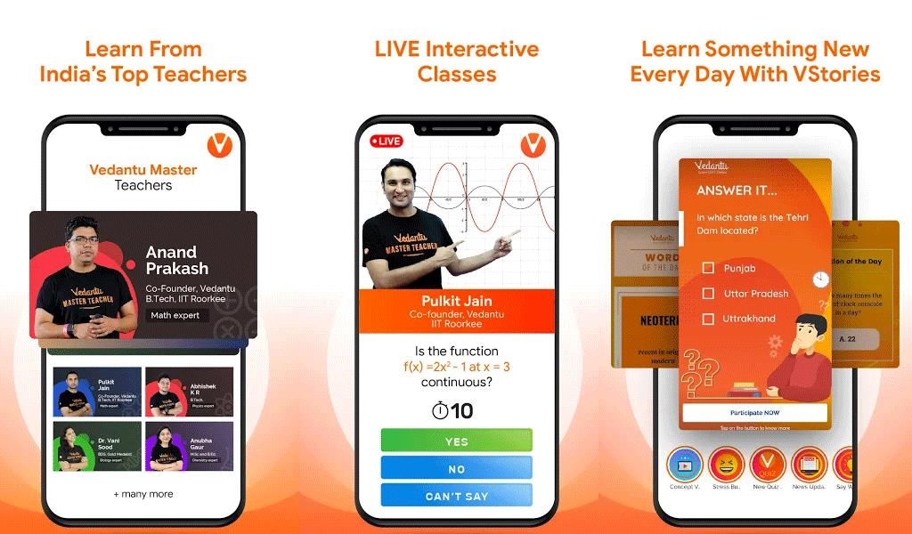 Cost to Develop an App like Vedantu