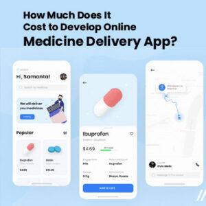 Cost to Develop Online Medicine Delivery App