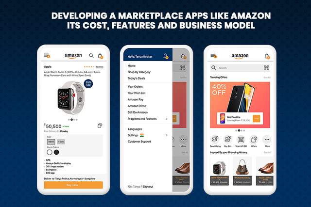 How Much Does it Cost to Develop an eCommerce App like Amazon