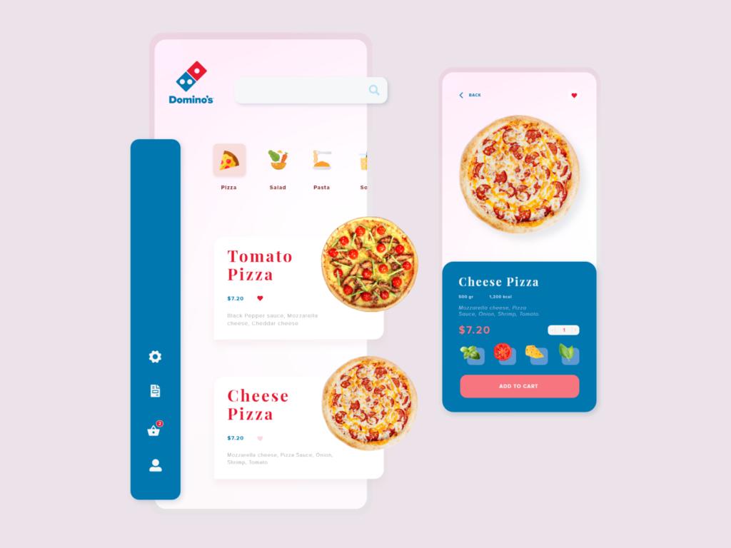 cost to develop Domino's Pizza app