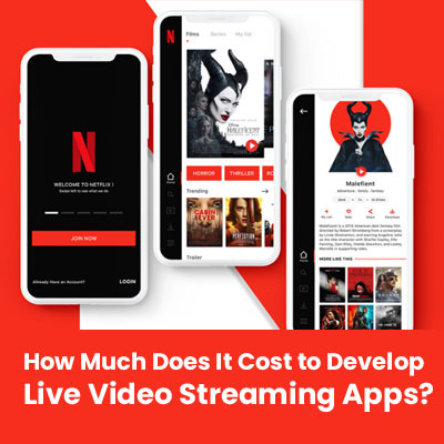 live streaming app cost