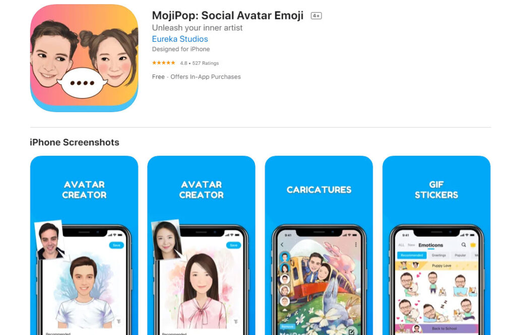 MojiPop-facial-recognition-