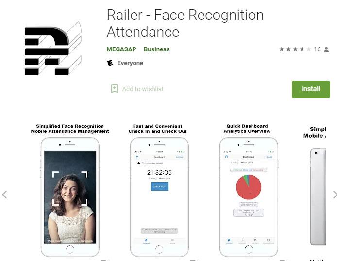 Railer-app