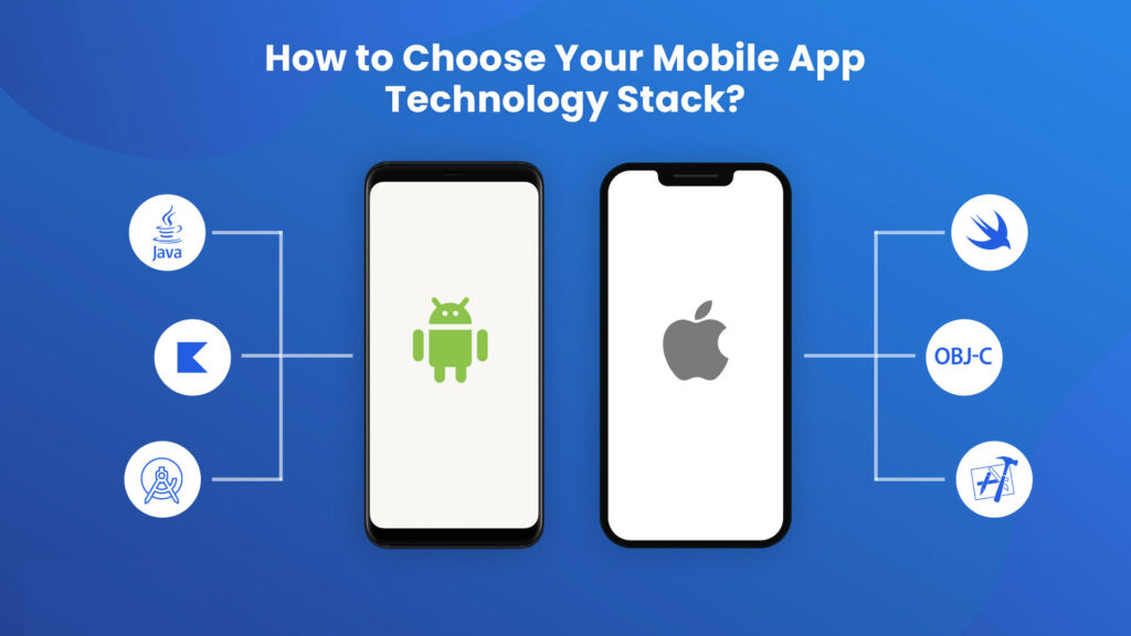 Best Technology Stack For Android & iOS Mobile App Development
